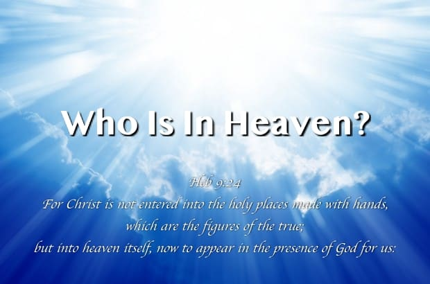 now to appear in the presence of God for us;