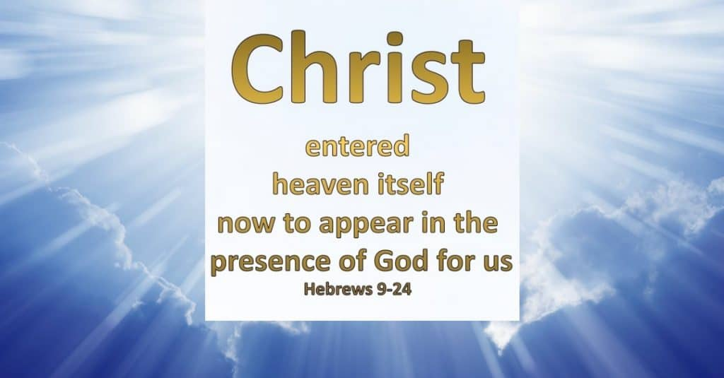Christ in the presence of God